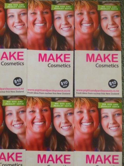Cosmetics Recipe Sheets